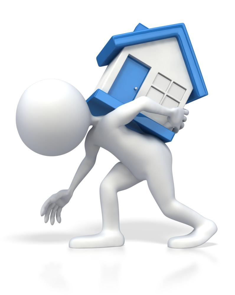 Immobilienkauf bedeuted hohe Kostenbelastung