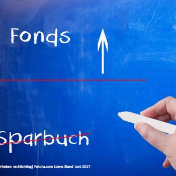 Fonds-Sparen statt Sparbuch