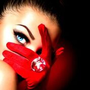 red-glove-girl-diamond-ring
